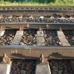 Места производства работ по ремонту железобетонных шпал