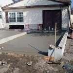 Строительство фундамент для гаража