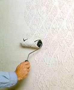 Отделка стен методом покраски