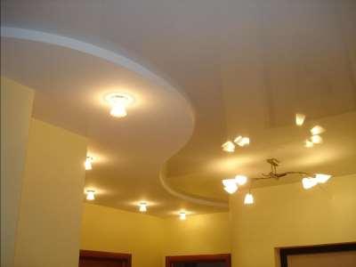 Дизайна потолок из гипсокартона