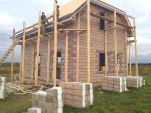 Как построить дом из теплоблока