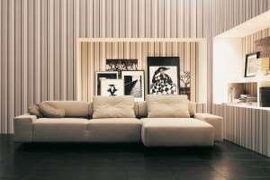 Дизайн полосатых стен