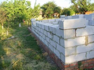 Как построить дом из пеноблока своими руками
