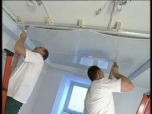 Монтаж натяжных потолков своими руками (видео)
