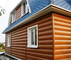 Обшивка дома блок-хаусом: особенности