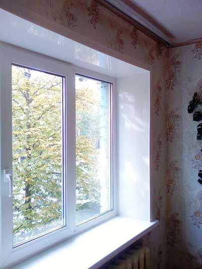 Фото пластик окна