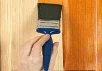 Защитная пропитка для строительной древесины
