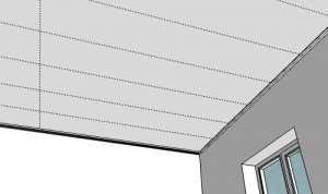 Разметка потолка из гипсокартона