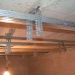 Двухуровневый потолок из гипсокартона с подсветкой. Часть 2. Монтаж первого уровня
