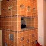 Облицовка печей керамической плиткой. Нюансы