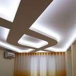 Двухуровневый потолок из гипсокартона с подсветкой. Часть 3. Разметка и монтаж второго уровня