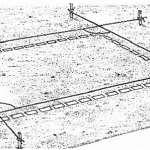 Строим простой дачный дом своими руками. Разметка фундамента