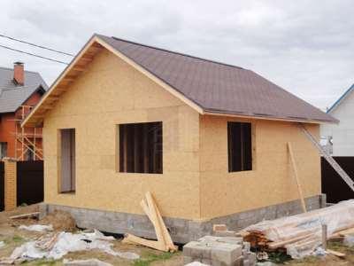Дом из уизби панелей