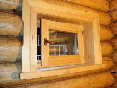Окна для бани своими руками