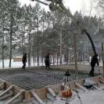 Особенности бетонных работ в зимний период