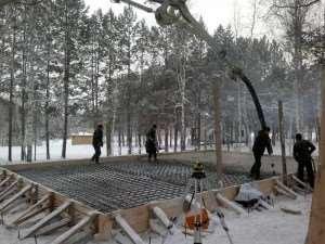 Бетонные работы в зимний период