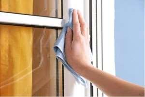 Как осуществлять уход за пластиковыми окнами
