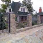 Кованый забор – роскошь и элегантность