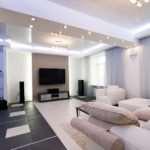 Насколько актуально использовать точечные светильники в гостиной, спальне и кухне?