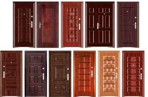 Популярные виды входных дверей
