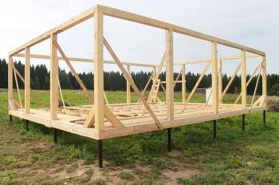 Каркасный дом как строить своими руками