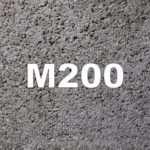 Бетон М200: технические характеристики, применение