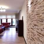 Декоративный камень – особенности применения в современном интерьере
