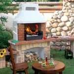 Садовые печи-барбекю – отличное украшение дачного участка