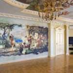 Художественная роспись стен и потолков – отличный способ украшения любого помещения