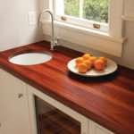 Деревянная столешница для кухни: имитация или натуральное дерево?