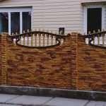 Нюансы производства и установки бетонных еврозаборов