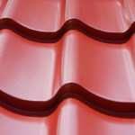 Разновидность металлочерепицы с защитным слоем из полиэстера