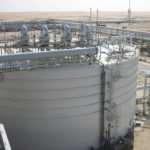 Область использования вертикальных резервуаров