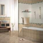Оптимальная настенная керамическая плитка для ванной