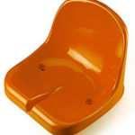 Удобные пластиковые сиденья