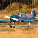 Развлечение для смелых — полет на самолете ЯК 18Т