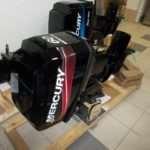 Установка двухтактных лодочных моторов Mercury с гарантией качества