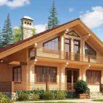 Дома из клееного бруса – лучшие из деревянных