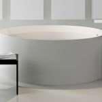 Напольные смесители для ванной – стильно и удобно