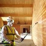 Эффективные способы огнезащитной обработки конструкций из дерева