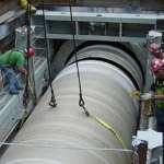 Как происходит очистка трубопровода под санацию?