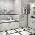 Кафельная плитка – отличный способ для отделки ванной комнаты
