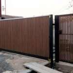 Современный потребитель делает выбор в пользу откатных ворот