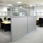 Разновидности современных офисных перегородок