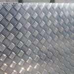 Применение и виды алюминиевого рифленого листа