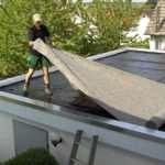 Гидроизоляция крыши: последовательность работ