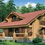Возведение домов из оцилиндрованного бревна с гарантией