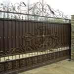 «Металлика», кованые ворота на любой вкус