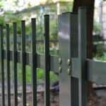 Сварной металлический забор из профильных труб