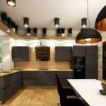 Правила выбора мебели для кухни лофт